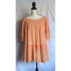 Free People Mystery Land Pleated Tunic
